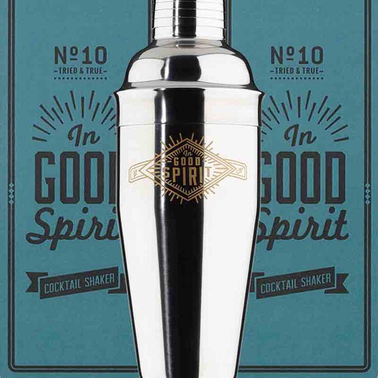 Coctelera Good Spirit... ¡agitar es cuestión de empezar! :-)