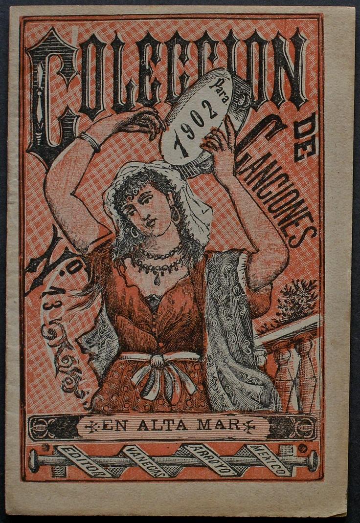 Attributed to Manuel Manilla (unsigned) Coleccion de Canciones para 1902