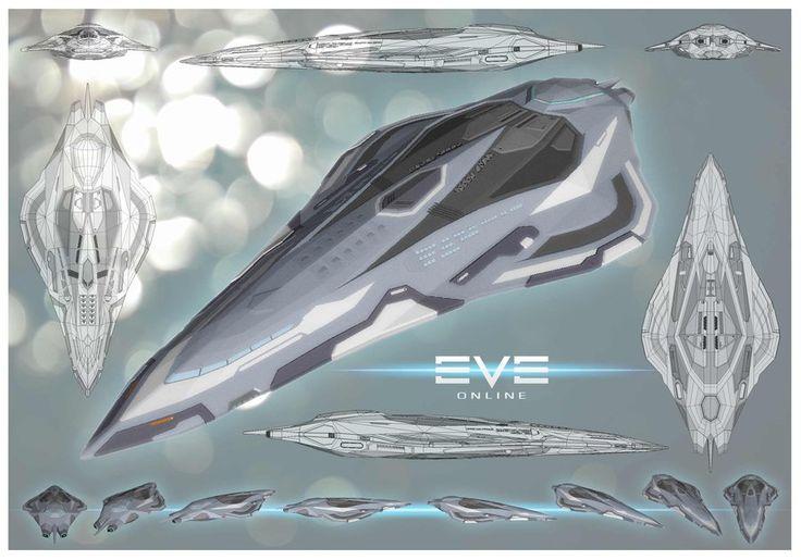 EVE Online Cruiser. by artdragondream.deviantart.com on @deviantART