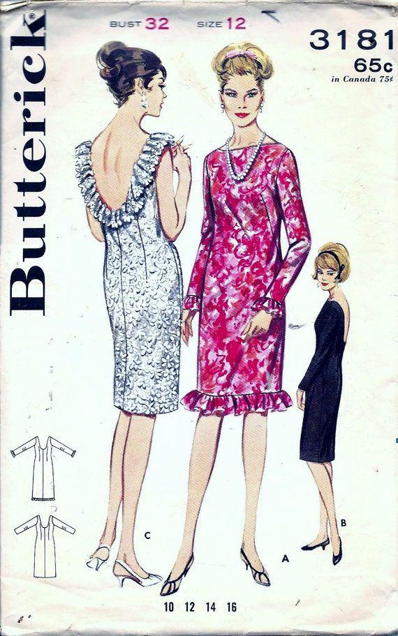 404 besten 1960s Vintage Patterns & Fashion Bilder auf Pinterest