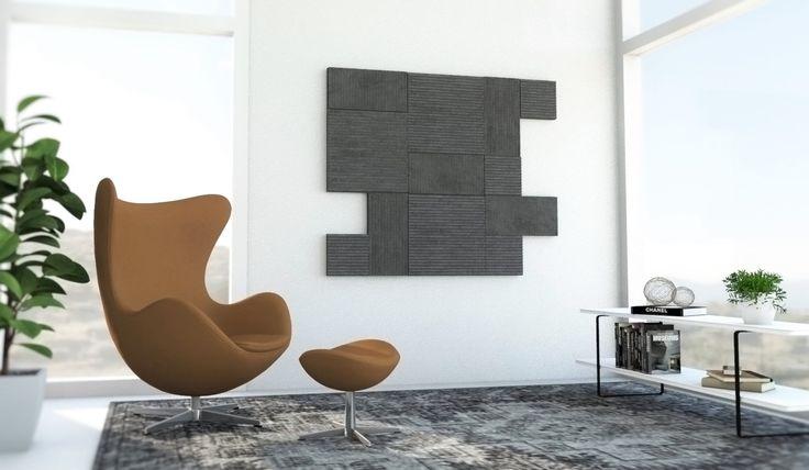 Rimpi wall panels collection. Custom Coal color
