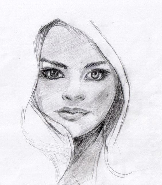 Jano S. - skica tvár, kreslene ceruzou A4, r. 2017