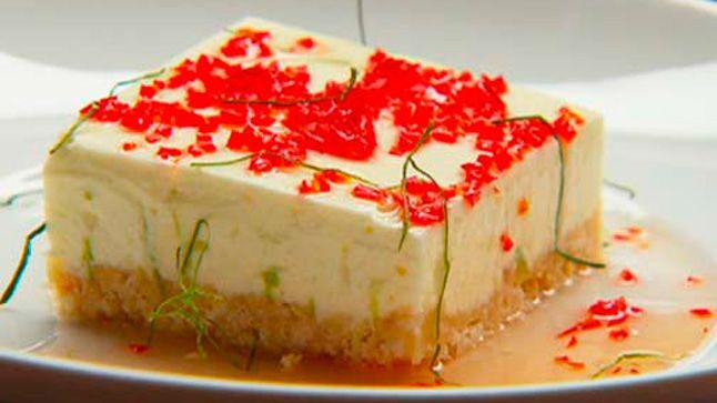 Gâteau au fromage et sirop de lime | MasterChef Australie 5 | CASA