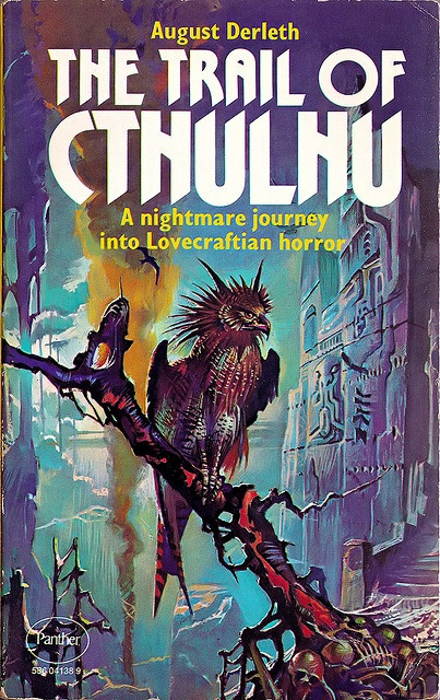 August Derleth – The Trail of Cthulhu   Art by Bruce Pennington   Flickr - Photo Sharing!