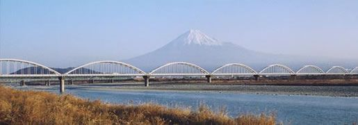 富士川水管橋 @WSP 日本水道鋼管協会 大径管部会