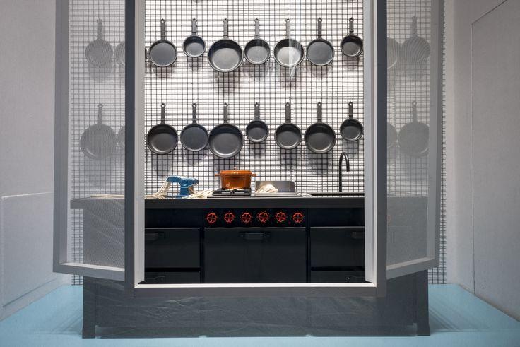 #minacciolo #blowupkitchen #minakitchen #milan #larinascente #elledecoritalia #design  © Blow Up Kitchen&Bathroom Concept e Progetto: Elisa Ossino Studio per Elle Decor Italia