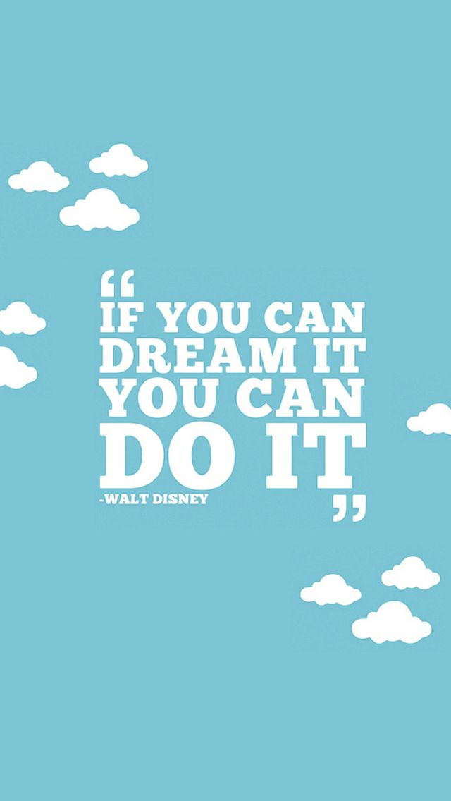 If you can Dream It, you can Do It - iPhone 5 wallpaper. #Vintage #Quote #mobile9 Click here for more signs & sayings wallpapers >> http://m9.my/go/djp