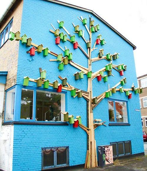 'Happy city birds' project - Denmark