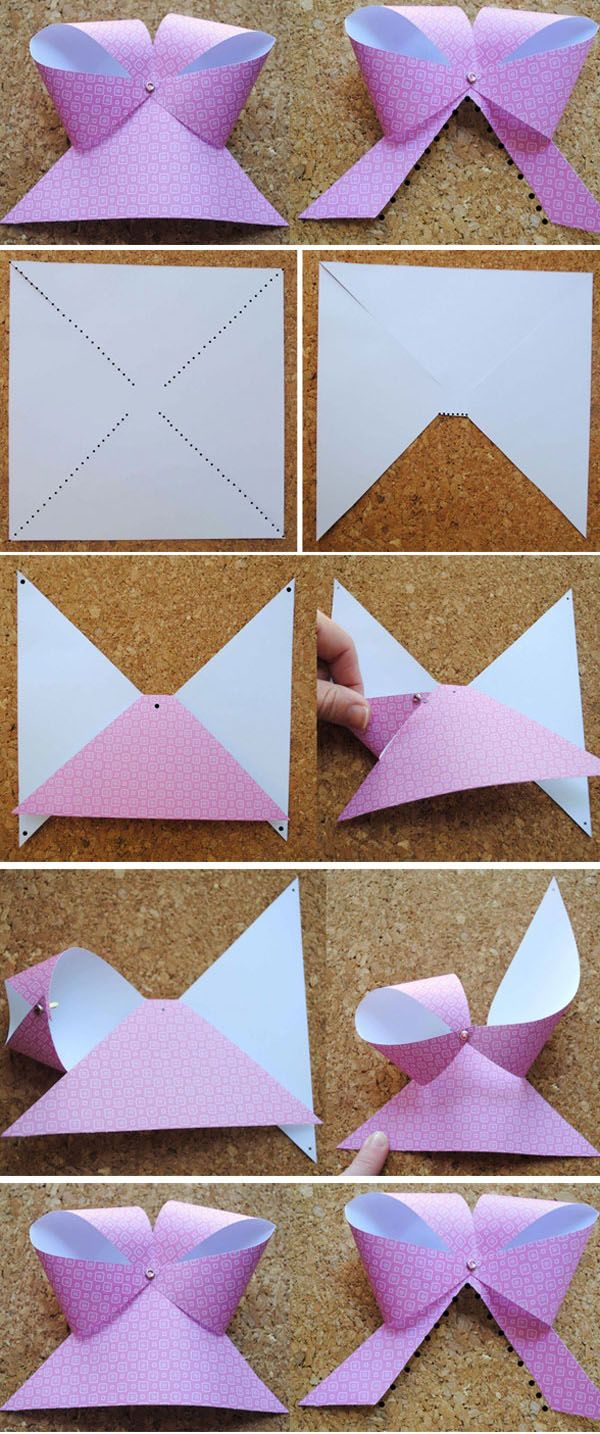Very Easy Paper Bow   DIY & Crafts Tutorials