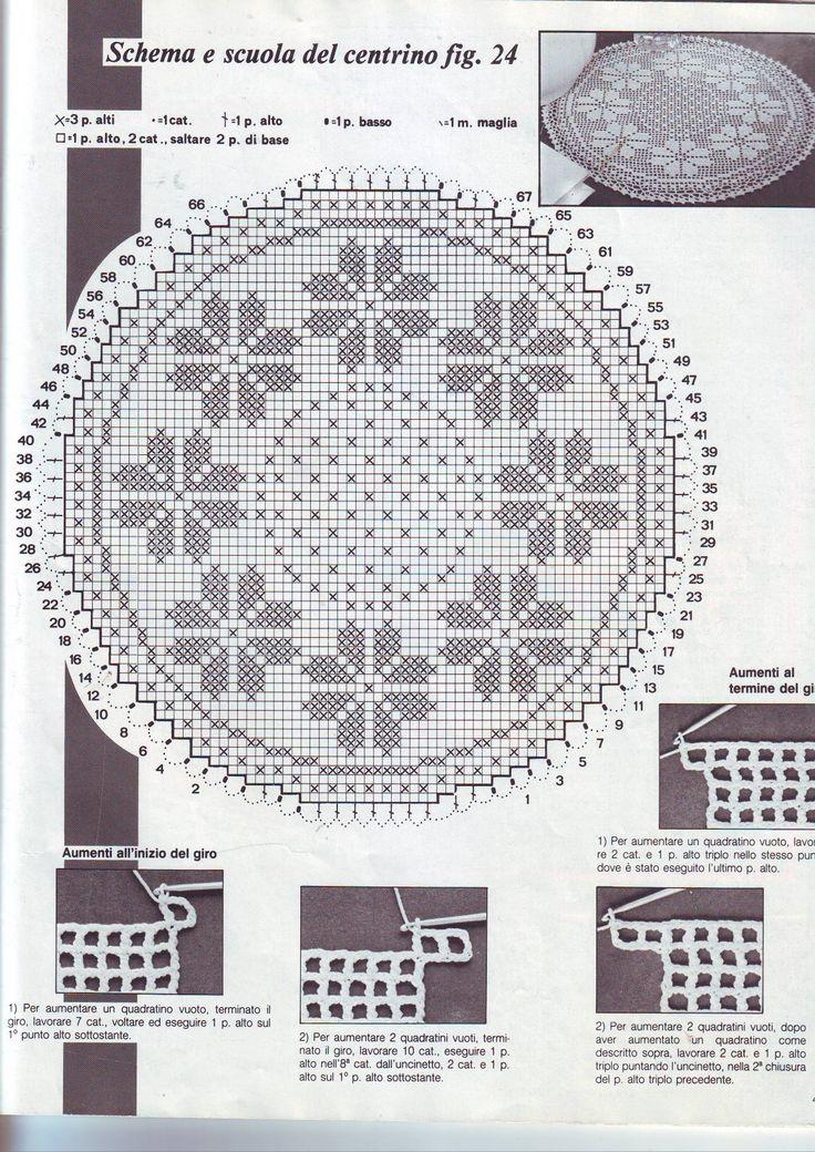 857 best filet 2 images on Pinterest | Filet crochet, Railings and ...