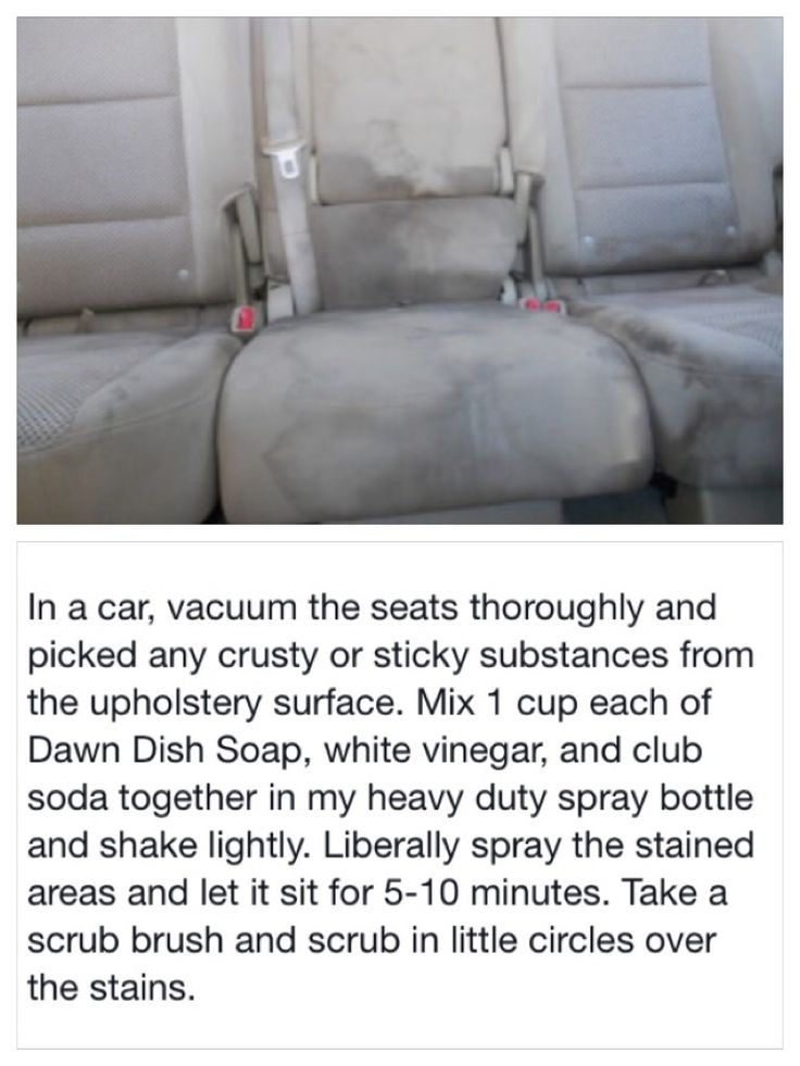 clean stains in your car