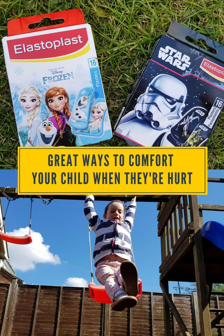great ways to comfort your child when they are hurt. A collection of parent bloggers ways they help their child when they are hurt