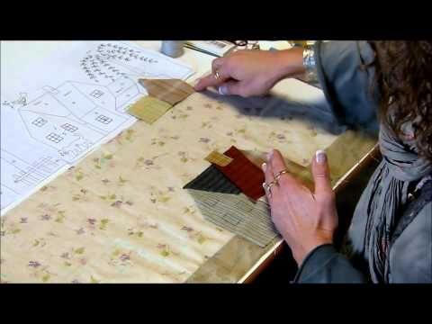 QUILT-MYSTERE Yoko Saito bloc2 video1 - YouTube