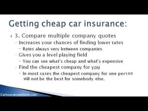 Car Insurance Uk Find Cheap Car Insurance Rates Video View Here