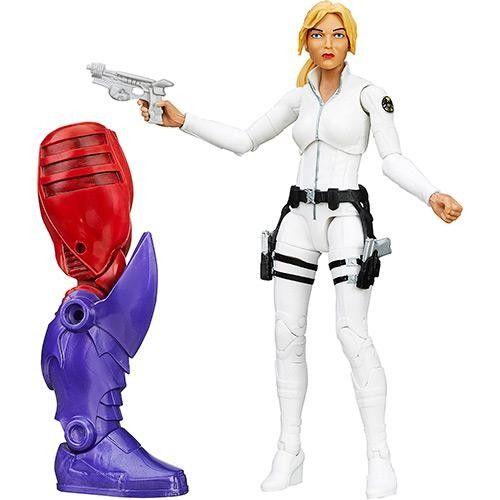 Boneco Avengers Legends - Agentes da Shield Pistola - Hasbro