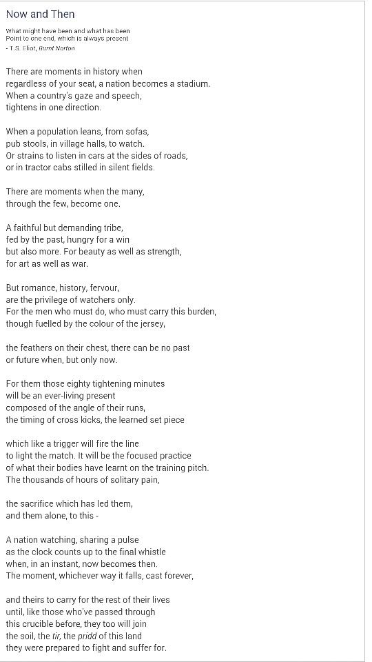 Welsh rugby poem | rugby | Pinterest | Poem, Rugby and Welsh