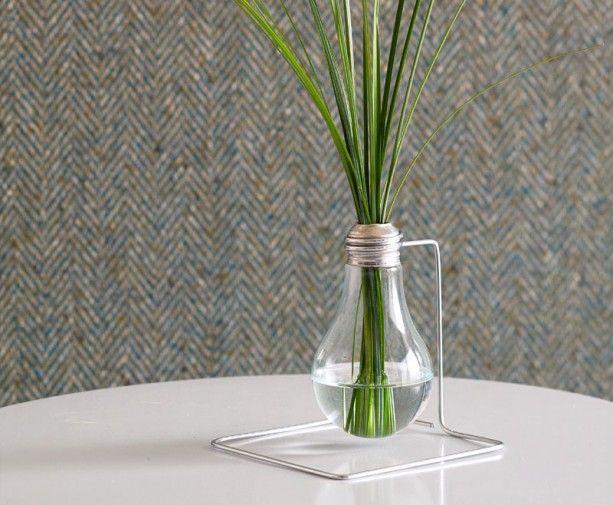 light bulb vase #vase #upcycle #vase