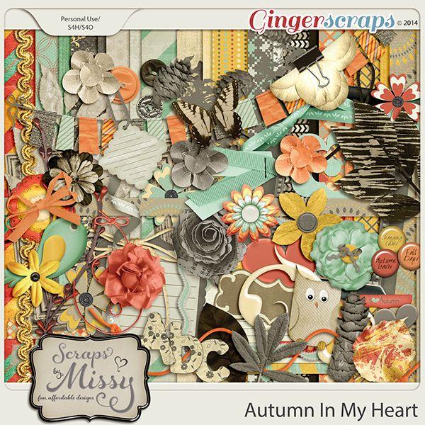 Autumn In My Heart | Scraps by Missy