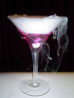 Color Changing Martini for Halloween Party drinks