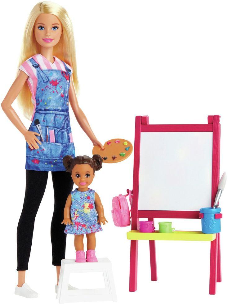 Barbie career art teacher doll in 2020 barbie doll set