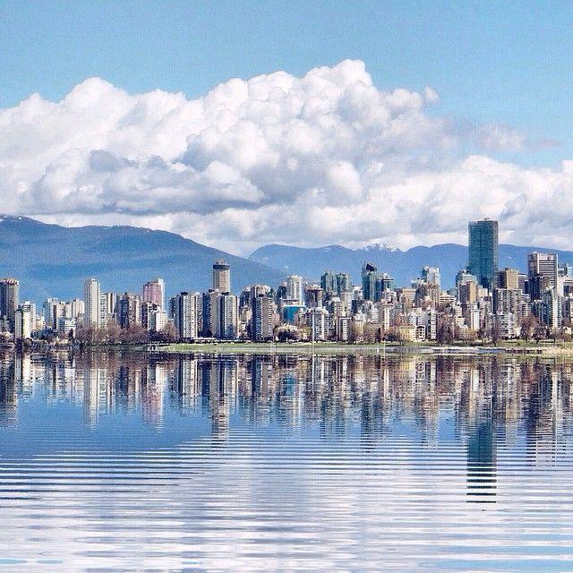 Taken in the Summer #vancouver #skyline