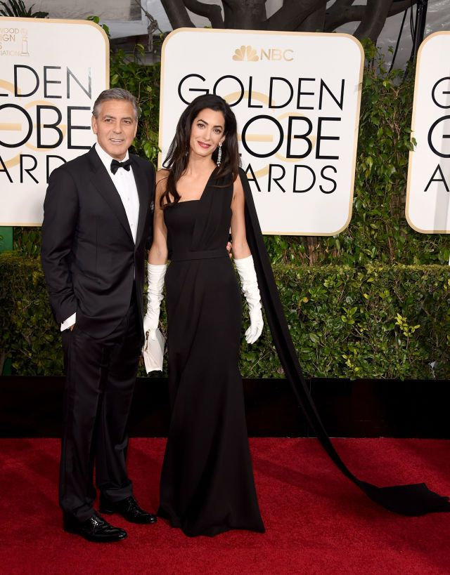 How Amal Clooney pulled off the biggest Golden Globes DIY of all time