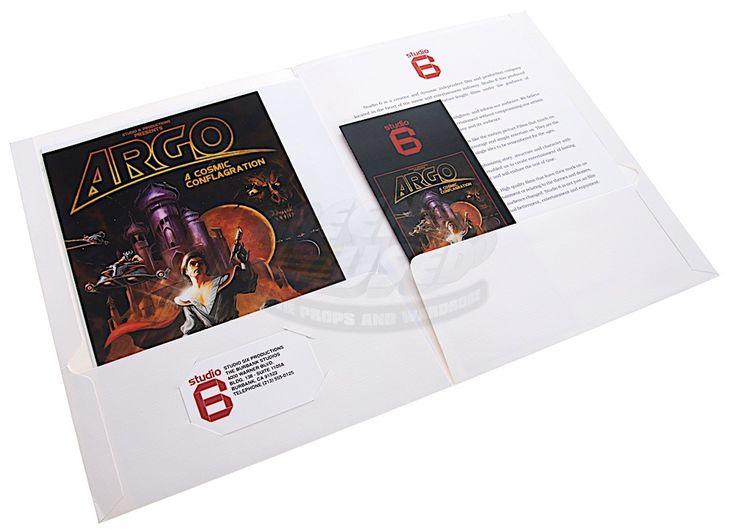 "Argo / FBI Hostage Files, ""Argo"" Film Script & Press Kit  |  ScreenUsed.com"