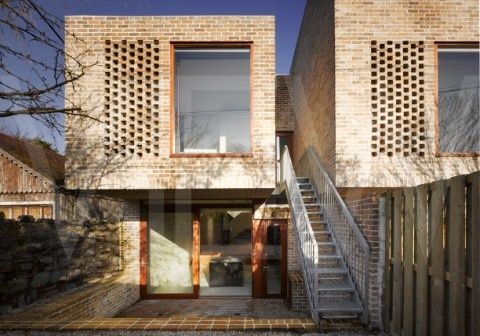 Mews House, Dublin, Ireland by Grafton Architects.