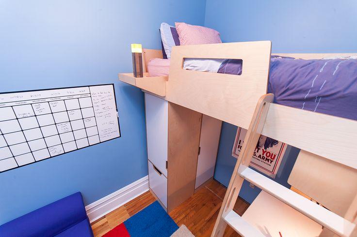 Custom plywood furniture made in Brooklyn, New York