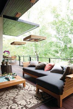 Contemporary - Contemporary - Deck - Miami - Pego Lamps