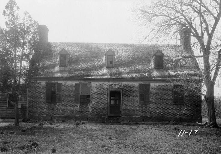Adam Keeling House built between 16951714 in Virginia Beach VA  Historic Architecture of