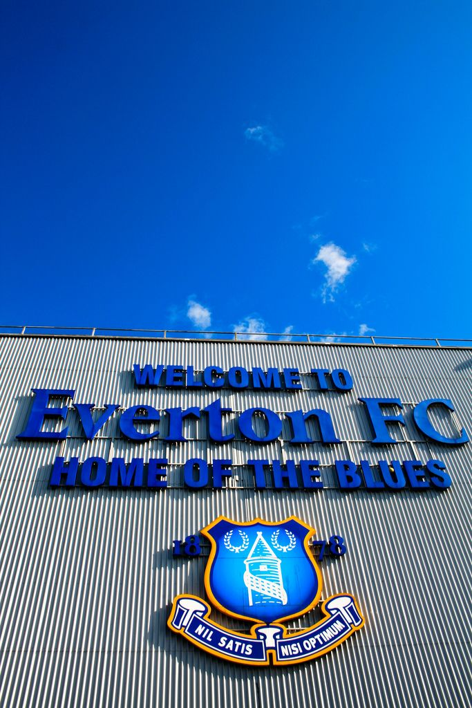 Welcome to Everton FC, Home of the Blues
