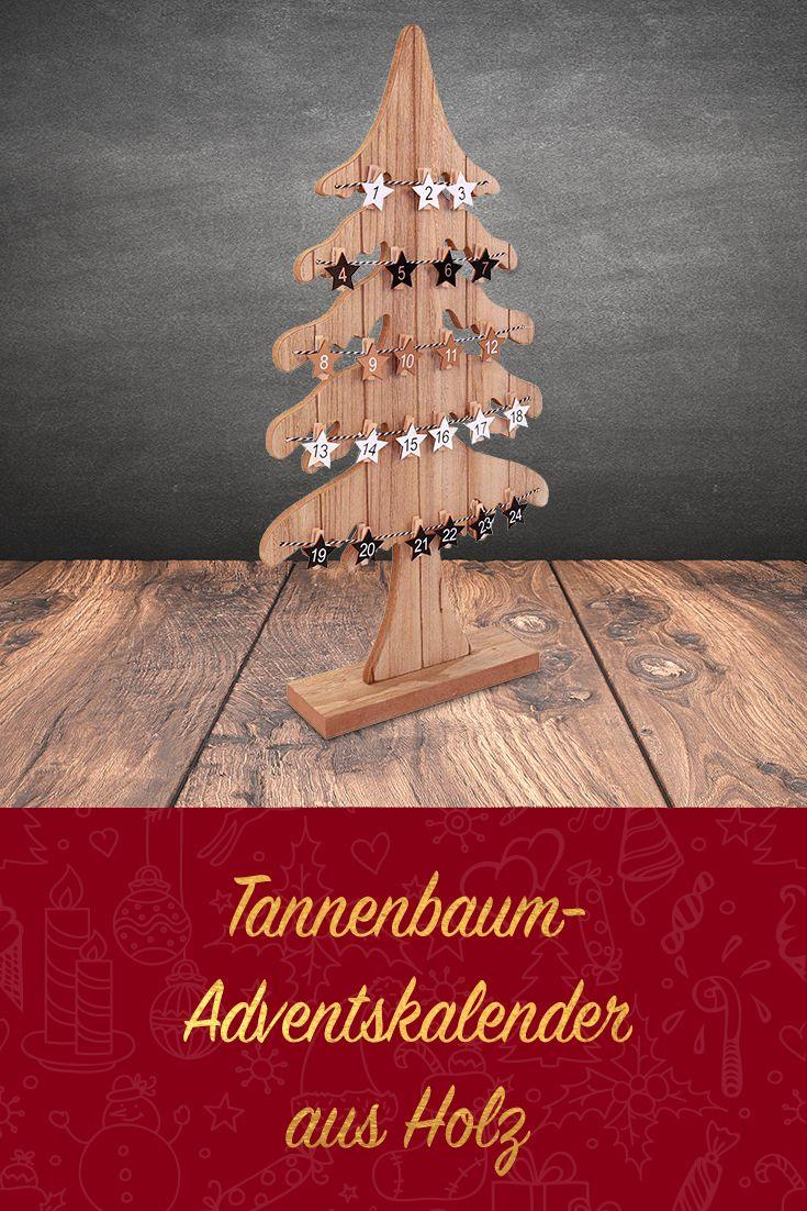 Tannenbaum Adventskalender Holz.Advents Kalender Tannenbaum 60 Cm Mit Holzklammern Weihnacht Oh Du