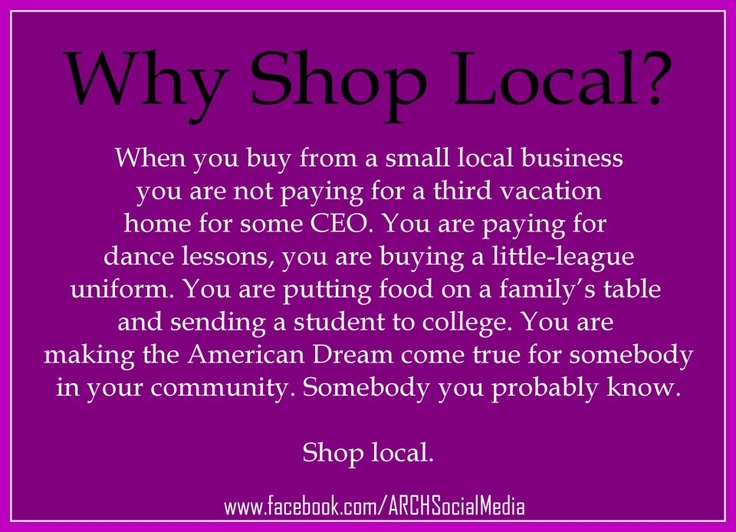 17 Best Ideas About Support Local Business On Pinterest
