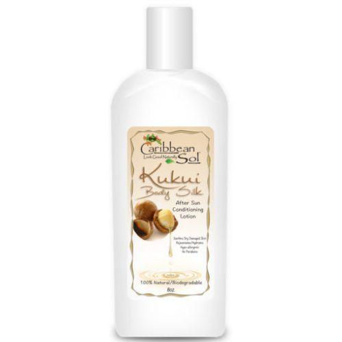 Caribbean Sol - Kukui Natural Body Silk Moisturizer 8 oz.