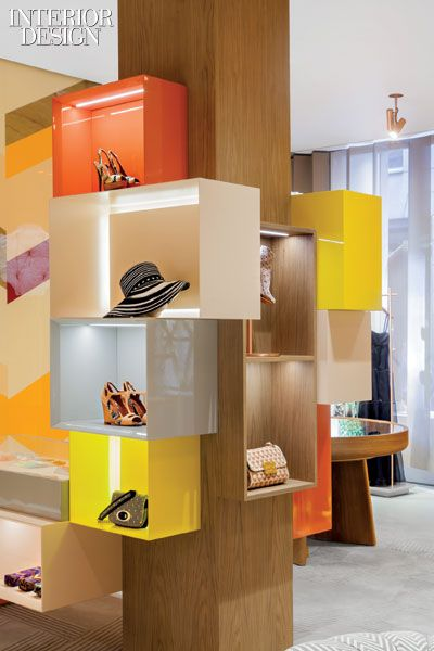 Molto Missoni Urquiola Dresses Up Milan Flagship Display Designstore