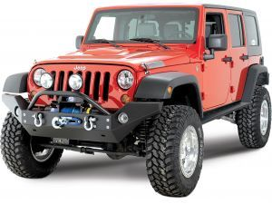 Rock Hard 4x4 Parts Full Width Front Bumper for 07-15 Jeep® Wrangler & Wrangler Unlimited JK