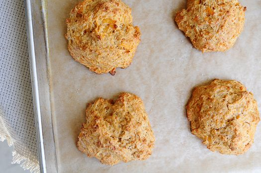 Chipotle Cheddar Drop Biscuits - so wonderful when warm!