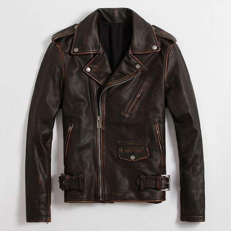 Find More Leather & Suede Information about Men's Leather Jacket Retro Coat Big Lapel Punk Clothes Rock Motorcycle Jacket,High Quality clothes sex,China jacket textile Suppliers, Cheap jacket fabric from Freedom-Enterprising on Aliexpress.com