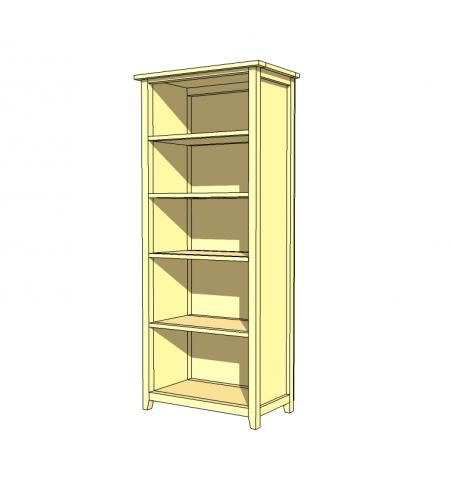 ... built-in bookcase plan. - Showcase Built-In Bookcase Plans: www