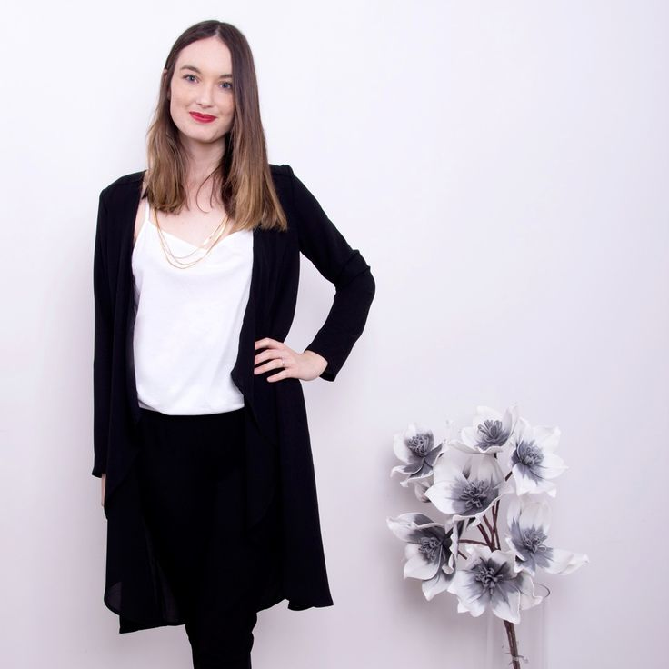 Black and White | Essi Black Blazer | Scandinavian Style in Clothing