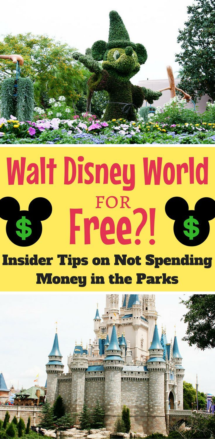 Walt Disney World for free?! Don't Spend a Penny Inside the Parks...Here's How!