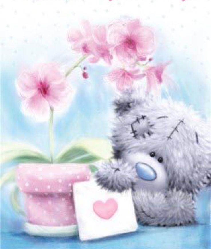 Спокойной ночи цветы картинки мишки, легкие картинки для