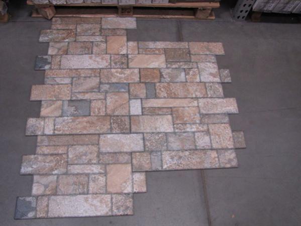 Tile, Outdoor Concrete, Backyard, Outdoor Tile Patio, House, Outdoor