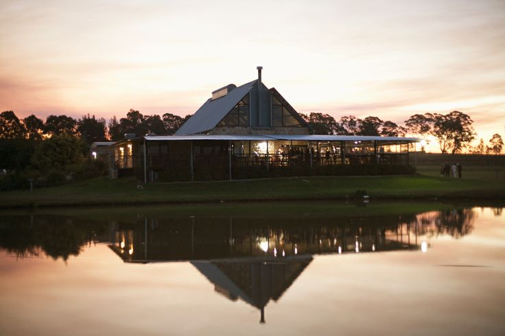 Sunset over Peterson House in the Hunter Valley | Image: Something Blue Photography - @somethingblueau