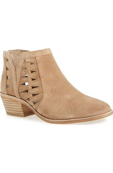 Vince Camuto 'Peera' Cutout Bootie (Women) (Nordstrom Exclusive) available at #Nordstrom