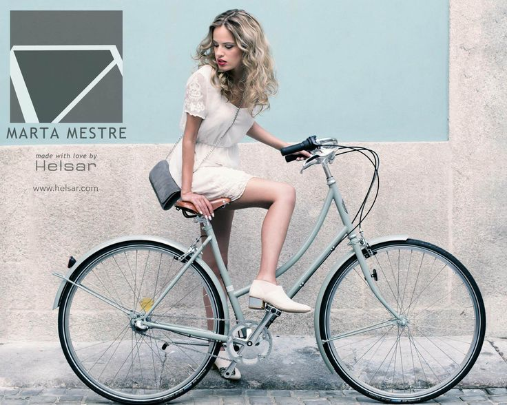 Marta Mestre | A shoe that alloes woman riding a bicycle comfortably without her commuter style: http://goo.gl/eu0E2x