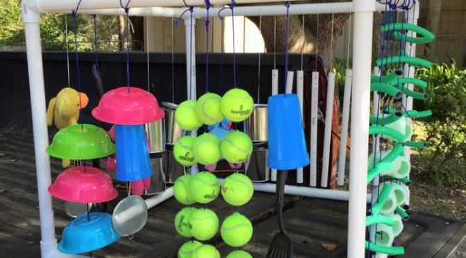 DIY Puppy Play Area