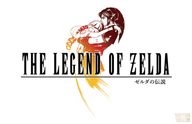 The Legend of Zelda has its own logos. They're great! But what if Zelda logos looked like Final Fantasy ones? Well, I guess they'd look like this.