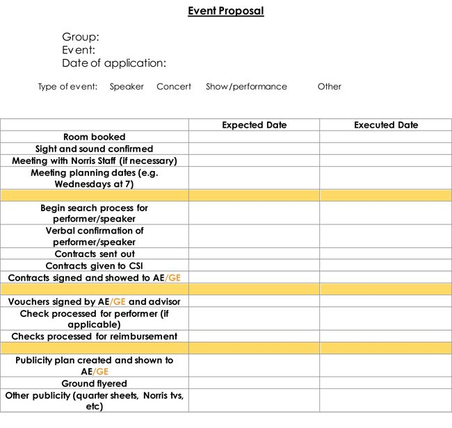 12 Event Proposal Templates with Ultimate Event Proposal Writing Guide